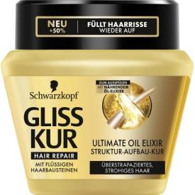 Schwarzkopf Ultimate Oil Elixir Struktur-Aufbau-Kur