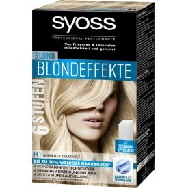 Schwarzkopf Syoss Blondeffekte Stuffe 6 H1 Kreativ-Set