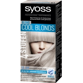 Schwarzkopf Syoss Professional Performance Cool Blonds 4 Stufen Aufhellung