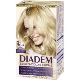 Schwarzkopf Diadem Dauerhafte Haarfarbe Seiden-Color-Creme 703 Perlmuttblond