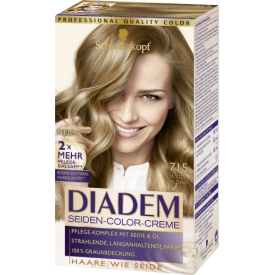 Schwarzkopf Diadem Dauerhafte Haarfarbe Seiden-Color-Creme 715 Mittelblond