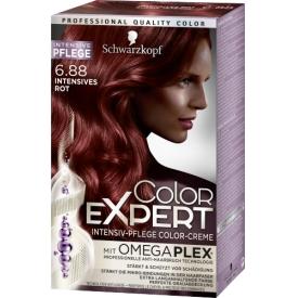 Schwarzkopf Color Expert Haarfarbe 6.88 Intensives Rot