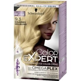 Schwarzkopf Color Expert Coloration 9-3 Goldenes Hellblond