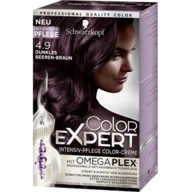 Schwarzkopf Color Expert Haarfarbe 4.9 Dunkles Beeren-Braun