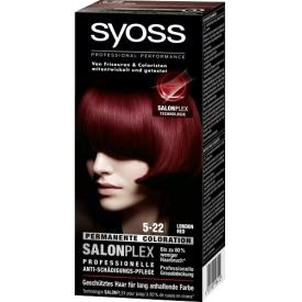 Schwarzkopf Syoss Coloration 5-22 London Red SalonPlex