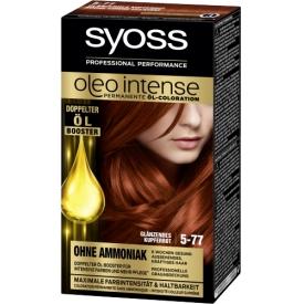 Schwarzkopf Syoss Oleo Intense Coloration 5-77 glänzendes Kupferrot 115 ml