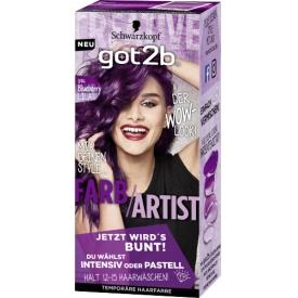 Got2b Tönung Farb Artist Blueberry Lila 094