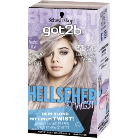 Got2b Aufheller und Coloration Hellseher & Twist Frosted Lila 104