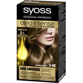 Syoss Oleo Intense Coloration Karamel Braun 5-60