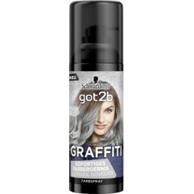 Got2b Pastell-Spray 1-Tag Graffiti Moonlight Silber