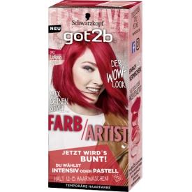 Got2b Tönung Farb/Artist Lollipop Rot 092