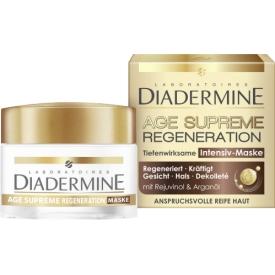 Diadermine Tagescreme Age Supreme Regeneration Intensiv Maske
