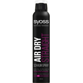 Schwarzkopf Syoss AIR DRY STRAIGHT Schaum-Spray