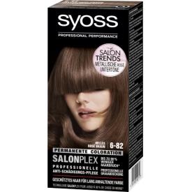 Schwarzkopf Syoss Permanente Coloration 6-82 Helles Rosé Braun SalonPlex