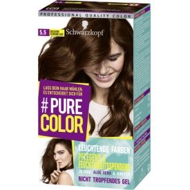 Schwarzkopf #Pure Color Haarfarbe Goldene Schokolade 5.5