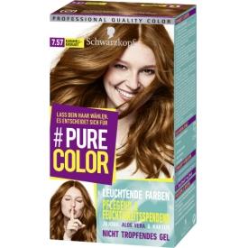 Schwarzkopf #Pure Color Haarfarbe  Karamell-Krokant 7.57