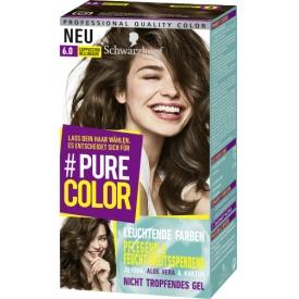 Schwarzkopf #Pure Color Haarfarbe Cappuccino Hellbraun 6.0