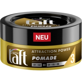 Schwarzkopf Drei Wetter Taft Attration Power Pomade Clean Cut Look