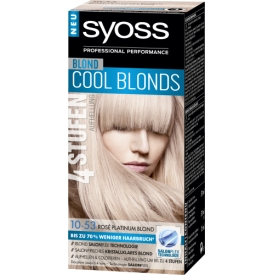 Schwarzkopf Syoss Color Aufheller Rose Platinum Blond 10-53
