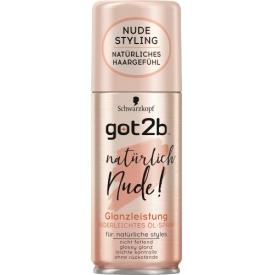 Got2b  Öl-Spray Glanzleistung Federleichtes natürlich Nude