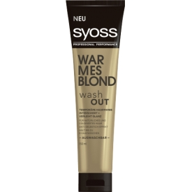 Syoss Tönung washout warmes Blond