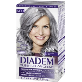 Diadem Silber-Color-Creme S02 Intensives Silber