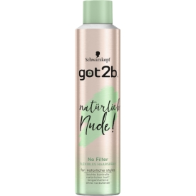 Got2b Haarspray natürlich nude! Naturtalent FLEXIBLES HAARSPRAY