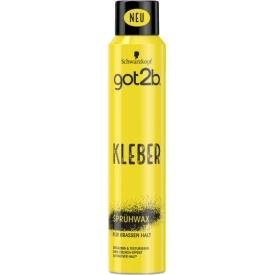 Schwarzkopf got2b kleber Sprüh-Wax