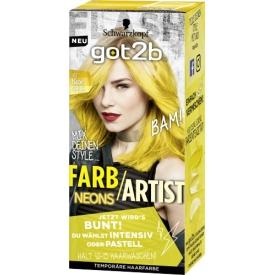 Schwarzkopf got2b Tönung Farb/Artist Neon Gelb, 1 St