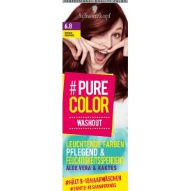 Schwarzkopf #Pure Color Tönung Washout Kirsch-Brownie 6.8