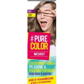 Schwarzkopf #Pure Color Tönung Washout Kühles Blond 8.1
