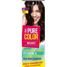 Schwarzkopf #Pure Color Tönung Washout Kühles Braun 5.1