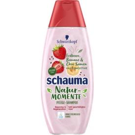 Schwarzkopf Schauma Natur-Momente Pflege-Shampoo Erdbeere, Banane & Chia Samen Haar-Smoothie