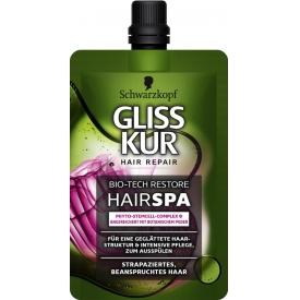 Schwarzkopf Gliss Kur Hair Repair Bio-Tech Restore HairSpa