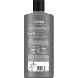 Syoss Shampoo Men Power