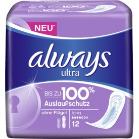 Always Damenbinden Ultra Long Sanitary