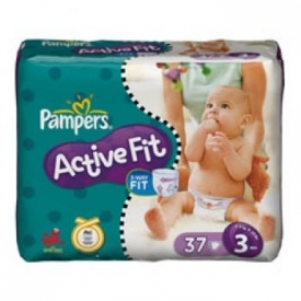 Pampers  Activ Fit S3 midi