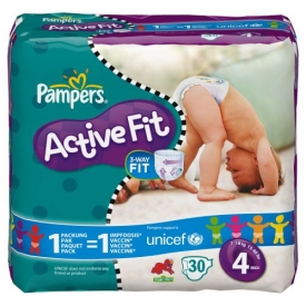 Pampers Active Fit S4 maxi