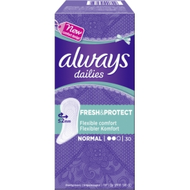 Alldays Damenbinden dailies 30 Normal Fresh & Protect
