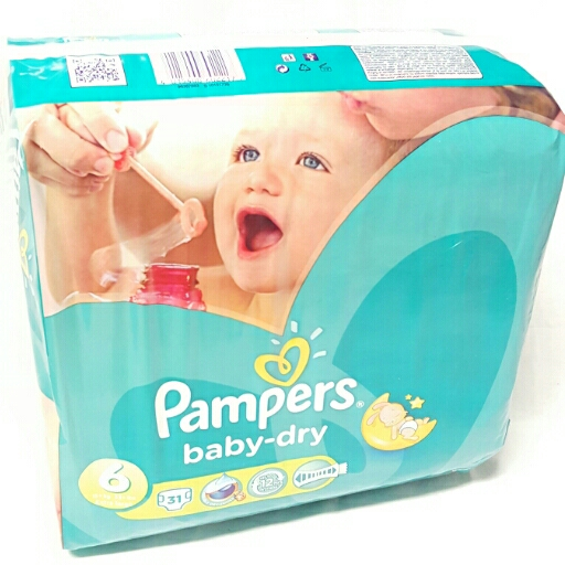 Pampers Baby-Dry Windeln  6 Extra large 15+kg