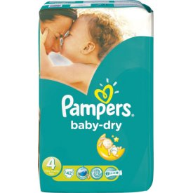 Pampers Baby-Dry Windeln 4 Maxi 7-18 kg
