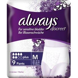 Always Inkontinenz Schutzunterwäsche discreet Blasenschwäche plus