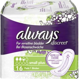 Always Inkontinenz Einlagen Discreet small plus