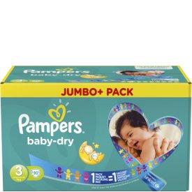 Pampers  Baby Dry Gr.3 midi 4-9kg Jumbo plus