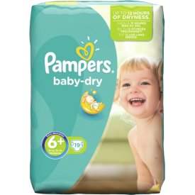 Pampers  Windeln Baby Dry Extra Large Plus Gr. 6  (16 kg)
