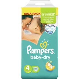 Pampers Baby-Dry Maxi Giga Pack