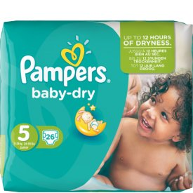 Pampers  Baby Dry Größe 5