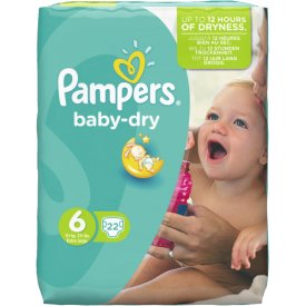 Pampers Baby Dry Gr??e 6