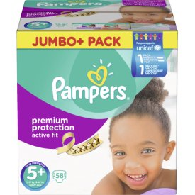 Pampers  Active Fit Windeln 5  Junior Jumbo  Pack 13-25 kg