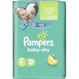 Pampers  Baby Dry Größe 2